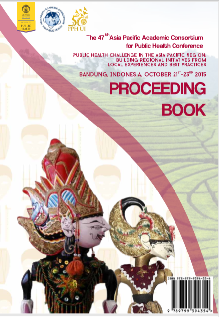 Proceeding Book : The 47th Asia Pacific Academic Consortium for Public Health Conference