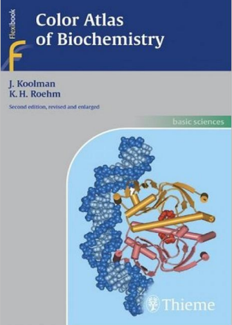 Color Atlas Of Biochemistry: Second Edition, Revised And Enlarged