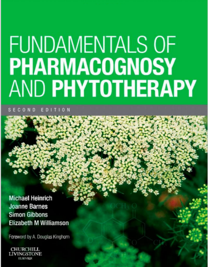 Fundamentals Of Pharmacognosy And Phytotherapy Second Edition