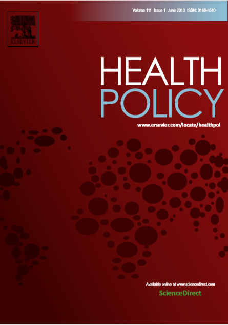 Health Policy : Volume 111, Issue 1, June 2013