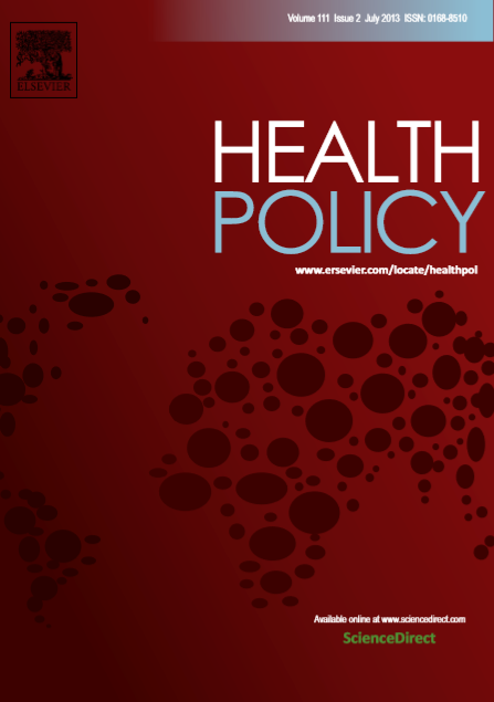 Health Policy : Volume 111, Issue 2, July 2013