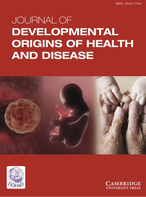 Journal of Developmental Origins of Health and Disease : Volume 5, Issues 4, August 2014