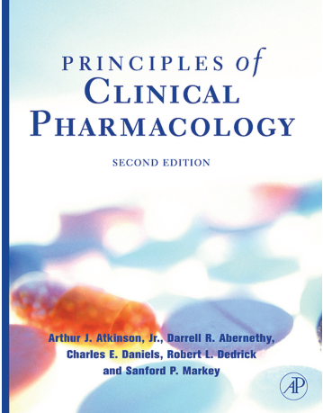 Principles Of Clinical Pharmacology Second Edition