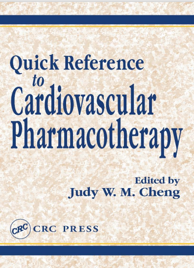 Quick Reference to Cardiovascular Pharmacotherapy