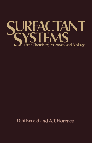Surfactant Systems: Their Chemistry, Pharmacy And Biology